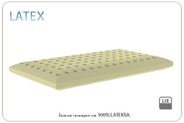 LATEX-jastuk